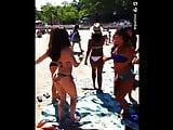 Melissa slutty beach dance
