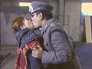 Japanese Bdsm Kissing video: Japanese Guard Tongue Kissing All Female Inmates