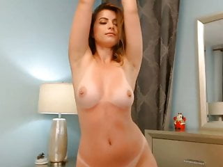 Brunette Big Tits Big Ass vid: Perfect Body On Webcam