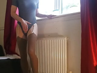 Amateur Shemale Masturbation Shemale Hd Videos video: Danni couldnt make her mind up. Stockings or pantyhose?