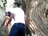Big ass getting fucked outdoors