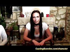 prima videocassetta per casting anale