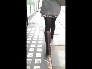 Voyeur Pantyhose movie: Miniskirt