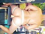 Big Sexy Latino Ass Takes Dildo