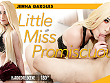 GroobyVR: Jenna Gargles is Little Miss Promiscuous