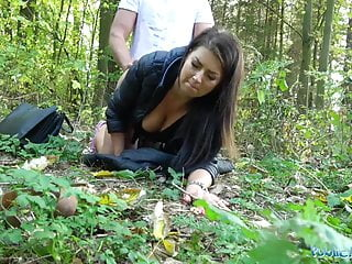 Blowjob Outdoor Babe video: Public Agent Tight busty minx Czech pussy fucked doggystyle