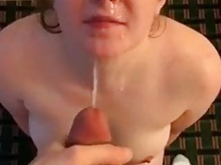 Blowjob Big Cock Facial video: BWC plasters GF