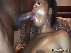 extrem afrikanische Sex-Orgie