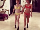 Kate Beckinsale & Kathy Griffin Bikini Runway