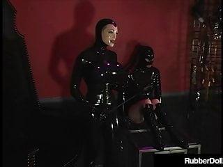 3Some Sybian Love With Rubber Doll Rubberella & Latex Slut!