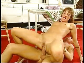 German Nipples Pornstar video: Simone Berger - Sex in Kitchen