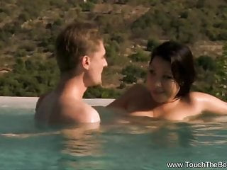 Interracial Asian video: Asian Nuru Expert Massages