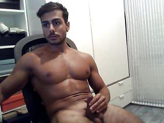 .Sexy Boy With Huge Cumshot.