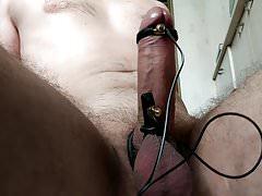 My penish in shock  30  Estim  Estim  Free hands  HFO | Porn-Update.com