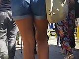 Spy sexy ass short teen girl romanian