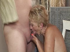 Horny Grandma Smashed By Her Stepson