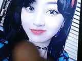 Jihyo (Twice) cumtribute 2