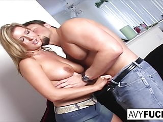 Blonde Big Tits Hd Videos video: Avy Scott gives you a hot and hard pounding scene with Van
