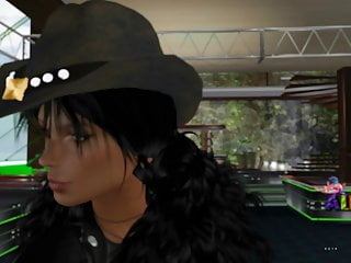 Brunette Skinny Latina video: ALEBRIJES DISCO CLUB THE BEST ON SECOND LIFE