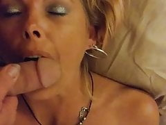 BlondeMary Sucking cock part 2