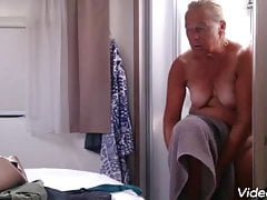 Granny Stripped Showered And Dressed