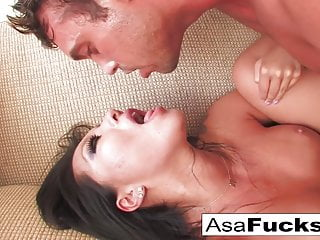 Asian Pornstar Hd Videos video: Asa Akira gets a solid and hard fuck