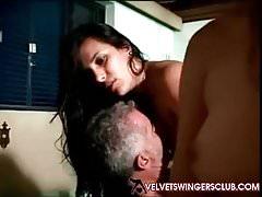 Velvet Swingers Club Lifestyle-Paare Zufällige Orgie