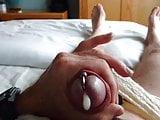 Cuming in my wife's bra cup