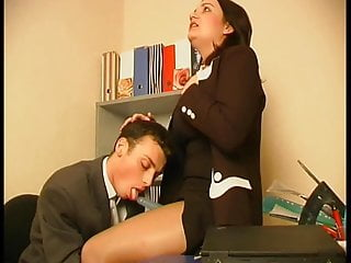 Femdom Cfnm video: Strap On Pantyhose Office Lady  1