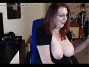 WEBCAM SHORT BLOWJOB AND SOME TIT-PLAY