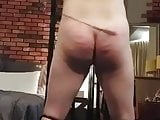 Mistress punishes the slave ass