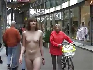 More girls nude in public