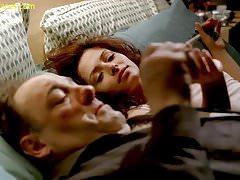 Sarah Shahi naakt seks scene in de Sopranos ScandalPlanet.Com