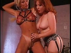 2 smoking hot big tits sluts into Bondage and BDSM
