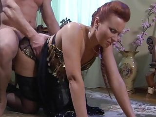 Amateur Russian Stockings video: Russian Mature Gets It In The Ass