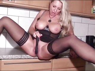 Blowjob Big Tits Milf video: Shameless Cougar MILF with Big Boobs Seduces Young Neighbor