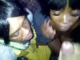 African whore facial
