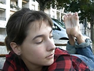 Teens French porno: Sexy Feetfetish Soles