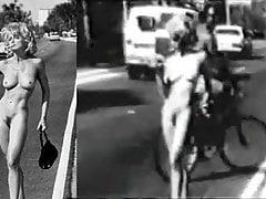 Madonna nuda per strada