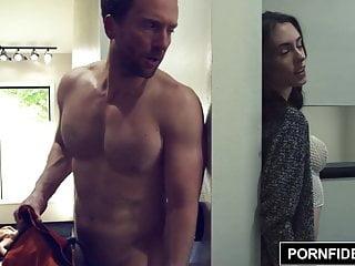 Hardcore Facials Intimate video: PORNFIDELITY Chanel Preston and James Deen Get Intimate