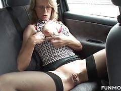 German Granny In Public