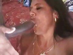 hotwife latin Milf cum in mund von ehemann und bbc freund