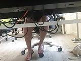 ULTIMATE Upskirt under desk office 01 - Arab girl