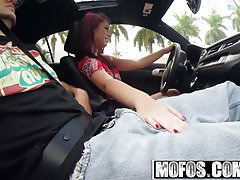 Mofos - Latina Sex Tapes - Brooklyn Rose - Driving Her Tits