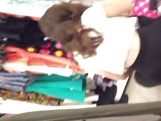 lovely teen shoping