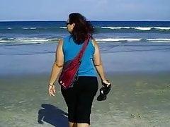 Big Gal Belle at the surf
