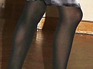 High Heels Pantyhose Nylon video: LA sensuales y largas piernas de mi reina Letizia Ortiz