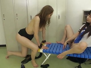 Teens Lesbians video: Asian Schoolgirl Has Fun With Slave Teacher Lesbian