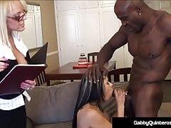 MexiMilf Gabby Quinteros & Alexis Golden Fuck Big Black Cock