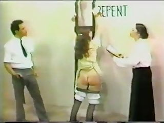 Bdsm Spanking Whipping video: Official punishment